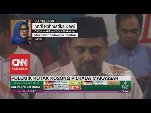 Kandidat Pilwalkot Makassar Terancam Kalah Dari Kotak Kosong