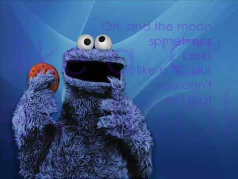 COOKIE MONSTER - C IS FOR COOKIE LYRICS
