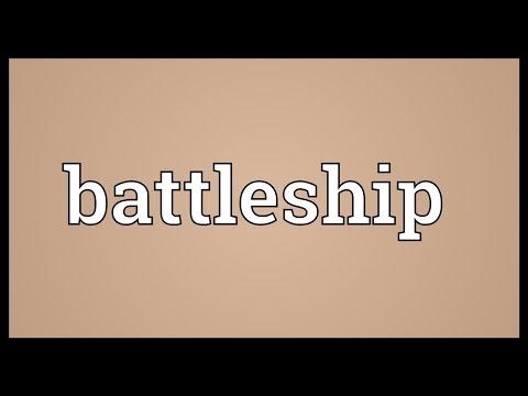 Battleship Meaning