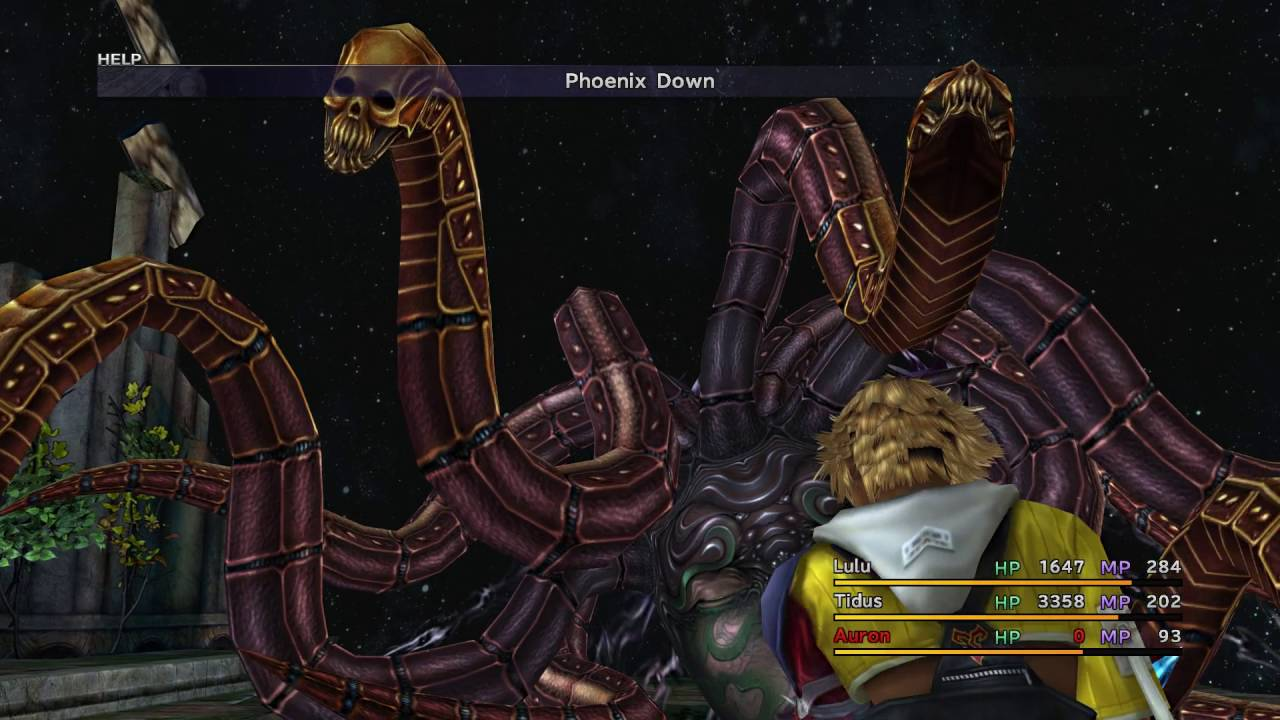 Final Fantasy X HD Remaster Steam Edition - Yunalesca Boss ...