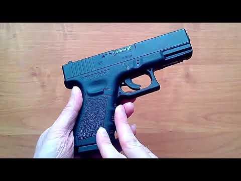Пневматический пистолет Umarex Glock 19 (обзор, данные отстрела по скорости и кучности, цена)