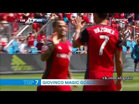 Top 10 best goals Giovinco