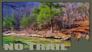 108 Leatherwood Wilderness Area, backpacking along Middle Creek