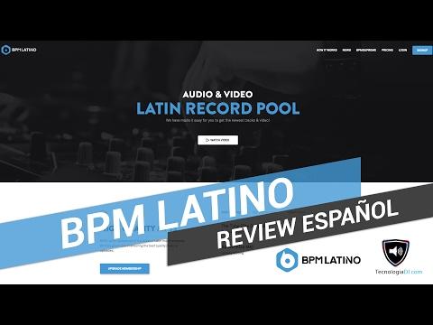 Review en español record pool BPM Latino | TecnologiaDJ.com