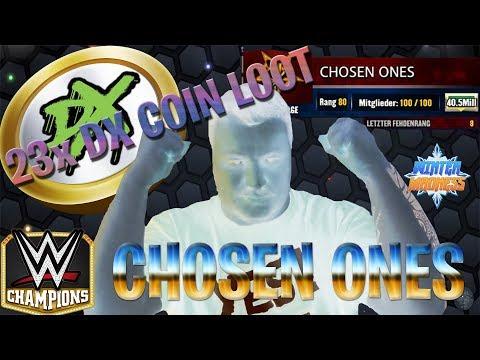 #31   WWE Champions   23x DX Coin Loot   Chosen Ones   Talk