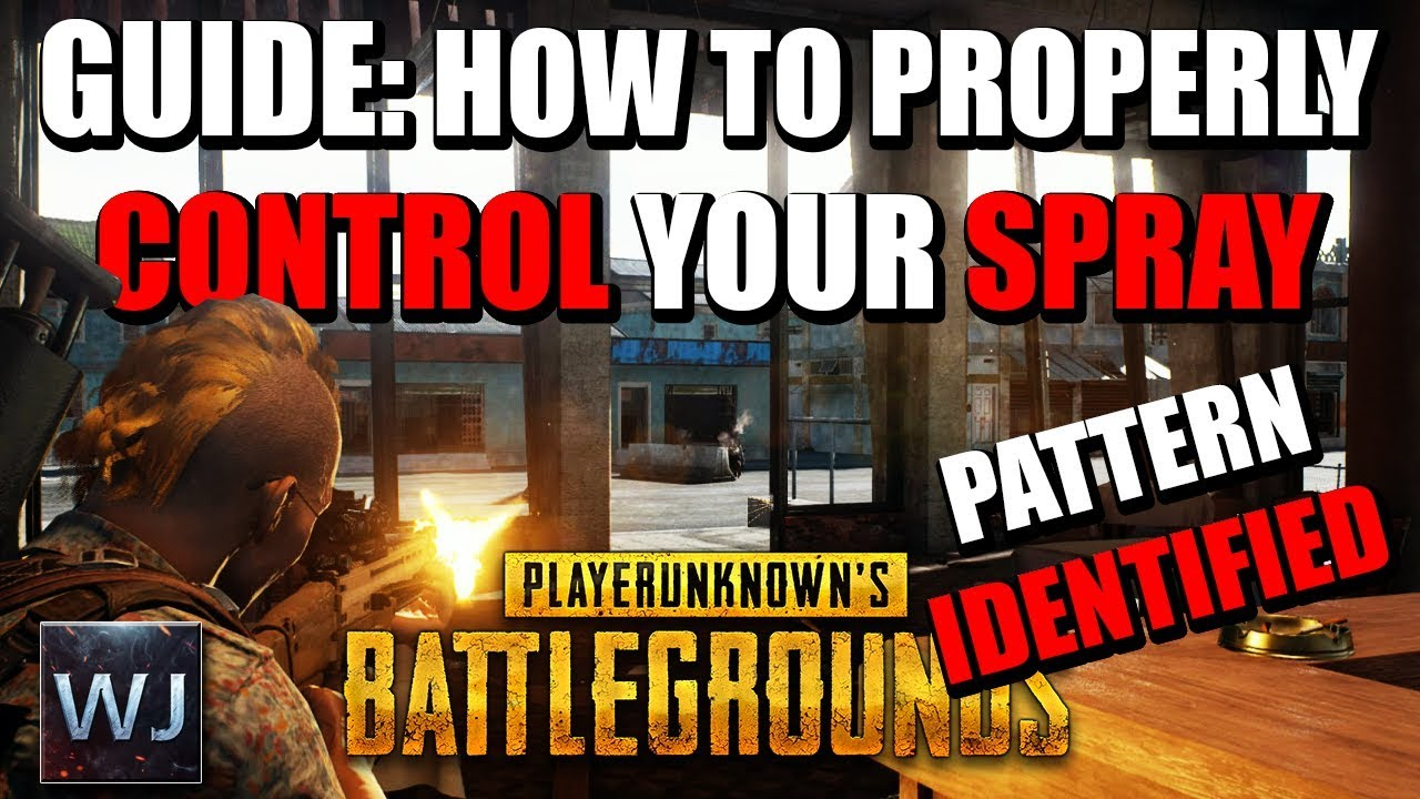 Guide How To Properly Control Your Spray Burst Playerunknowns Battlegrounds Pubg