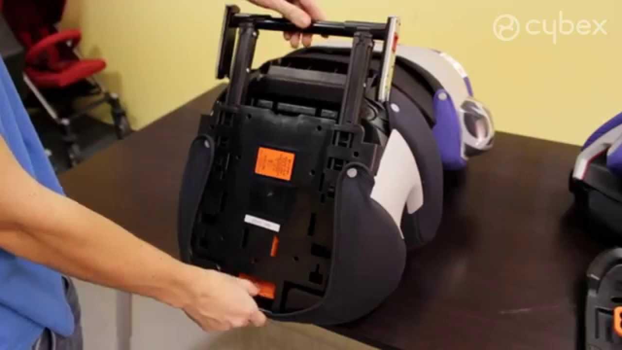 como transformar a cybex pallas 2 fix no grupo 2 3 youtube. Black Bedroom Furniture Sets. Home Design Ideas