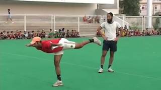 Hockey Warm Up (15) BY RAJPAL SINGH , FORMER CAPTAIN  OF INDIAN HOCKEY TEAM  AND PRABHJOT SINGH