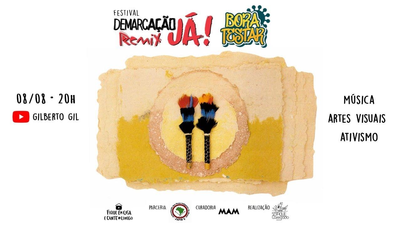 Demarcação Já Remix - Bora Testar | #FiqueEmCasa e cante #Comigo