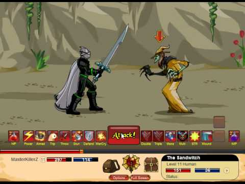 Dragonfable Warrior Skills From Sondre Nordvoll Tomma =) - YT