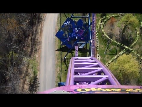 Top Ten Steel Roller Coasters in the World with HD Povs