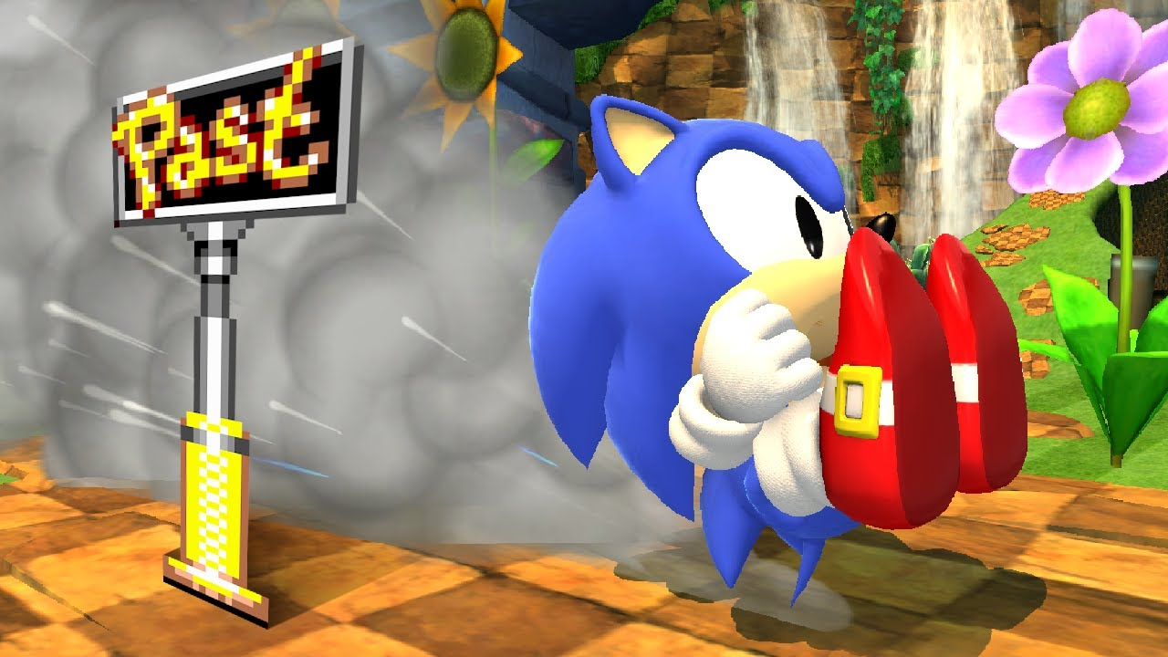 Sonic Generations, with Sonic CD Spindash!