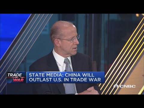 Chinese State Media: China will outlast US in trade war