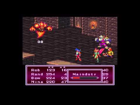 Breath of Fire 2 - SNES Holy, Dark and Earth Shaman Locations