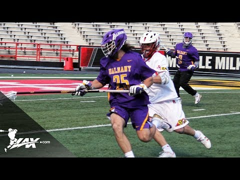 Univ. of Albany vs Univ. of Maryland | 2018 College Highlights