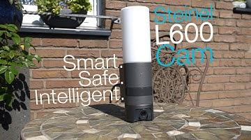 Steinel L600 Cam - Kamera-Außenleuchte mit WLAN