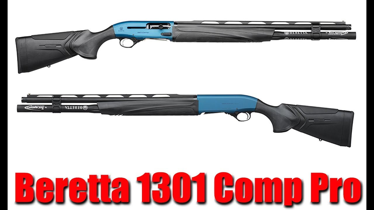 New Beretta 1301 Comp Pro 12ga Shotgun: Shot Show 2020