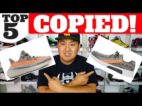 TOP 5 SNEAKERS COPIED BY OTHER BRANDS!