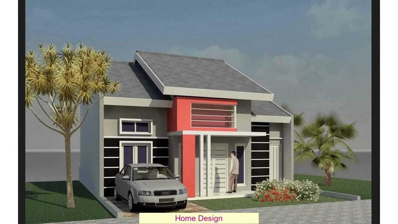 Desain Rumah Mewah 1 Lantai 4 Kamar YouTube