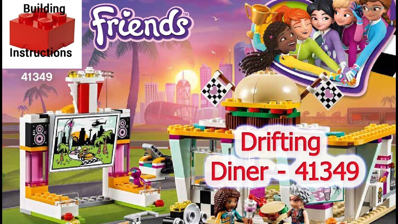 Drifting Diner - 41349 | LEGO Friends | LEGO Video-Instructions