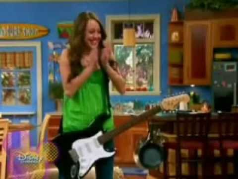 The New Hannah Montana Miley Sings Old Punk Style Rock
