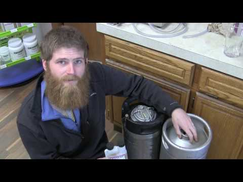 Keg Cleaning 101- How to Clean Corny and Sankey Kegs (home brew or commercial)