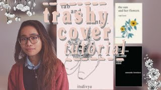 how to design a trashy instapoetry/tumblr poetry book cover in the style of rupi kaur YouTube