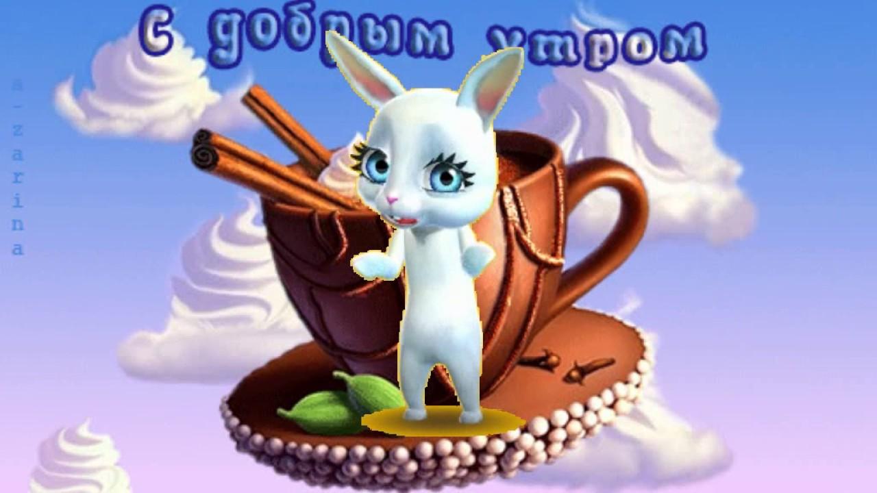 открытки доброе утро милый котик от зайки надеются, что этой