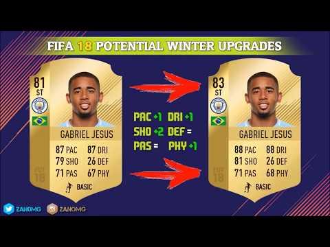 Winter Upgrade potenziali, ecco alcuni giocatori | FUT 18 italia