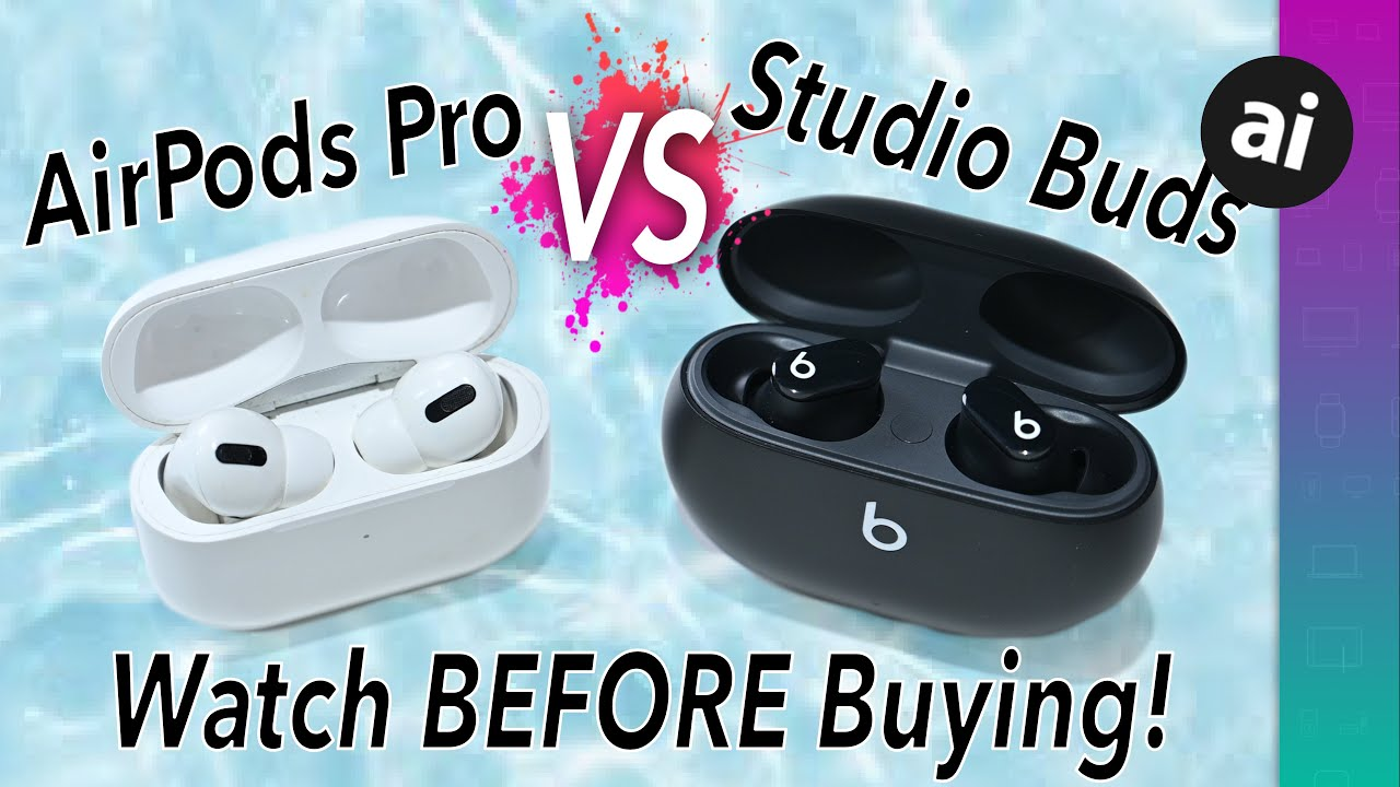 Compared: Beats Studio Buds vs AirPods, AirPods Pro, and Powerbeats Pro