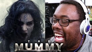 THE MUMMY Trailer Reaction - BEST TOM CRUISE SCREAM EVER!!! #TheMummy