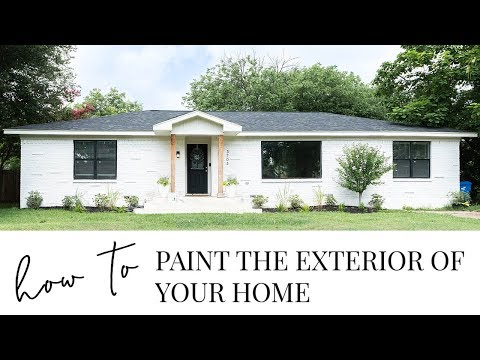 How to Paint the Exterior of Your Brick Home