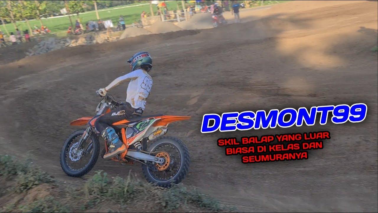 Desmont 99,practice, kandidat calon jawara dikelasnya 85cc