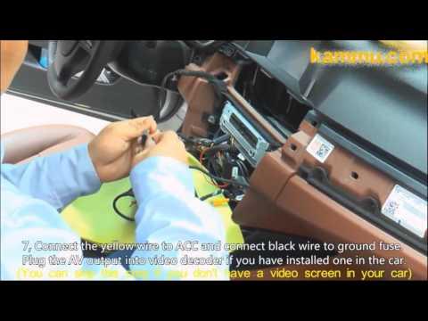 How To Install Dashcam (car Blackbox) On BMW 5 Series Sedan
