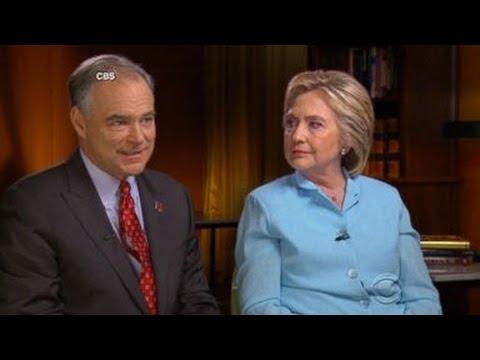 Hillary Clinton, Tim Kaine Rally Against Donald Trump