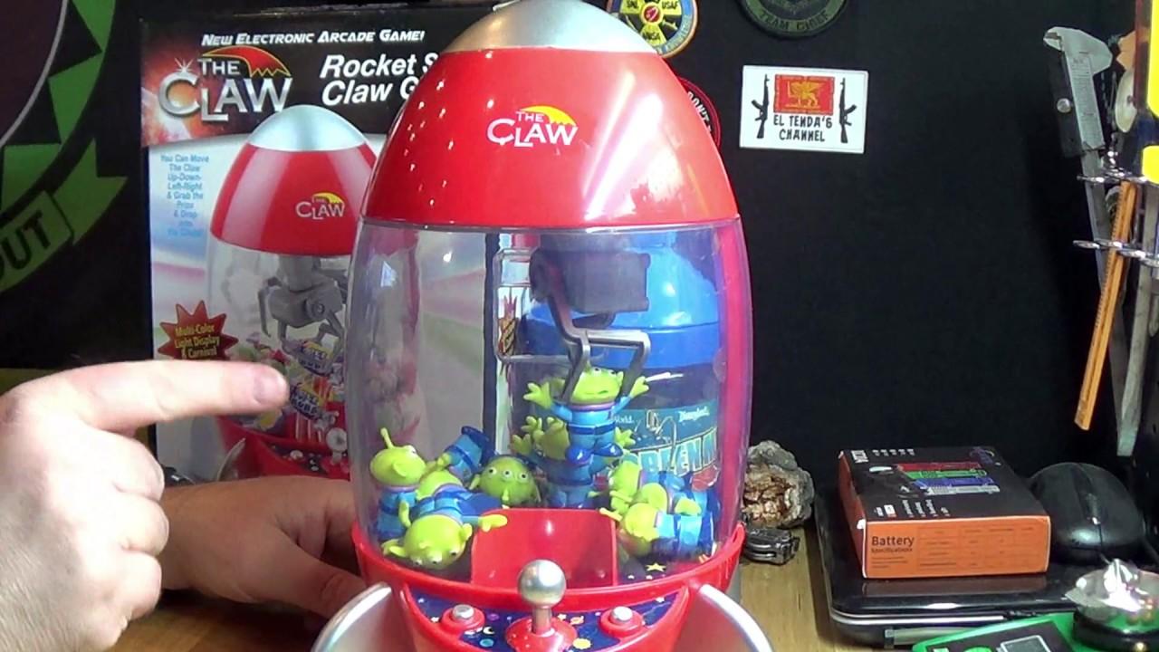 Rocket Claw Machine With Toy Story Aliens