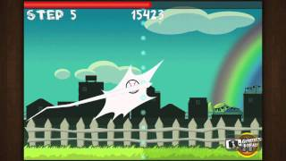 Flick Home Run ! - iPhone Gameplay Video