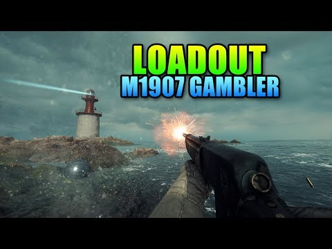 Loadout M1907 SL Sweeper Gambler Medic | Battlefield 1 Gameplay