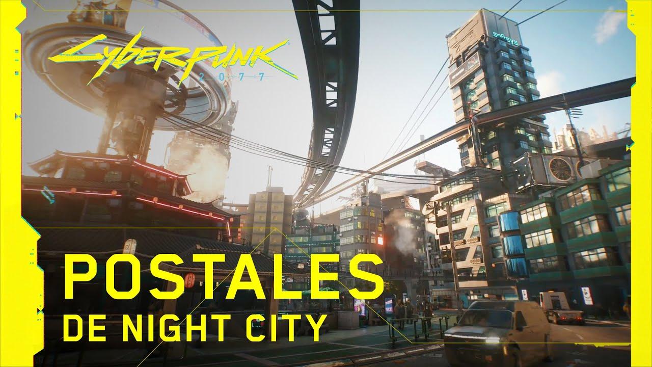Cyberpunk 2077 - Postales de  Night City | PS4