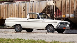 1965 Ford Ranchero Test Drive and Start Up