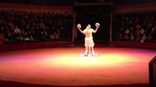 Цирк Circus Original juggler basketball Andrey Petrov/ Riga Cirks LATVIA жонглер