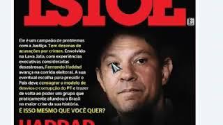 #vote17 #Bolsonaro / A revista ISTOÉ acaba de revelar diversos processos de Haddad