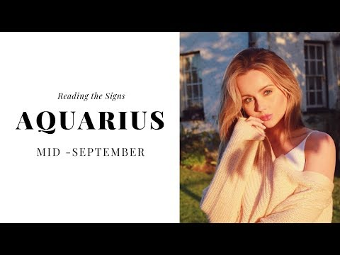 DONT MISS OUT ON THIS 🔥AQUARIUS 🔥Mid September 2018