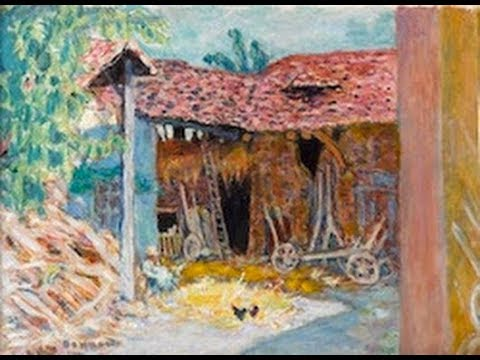 Pierre Bonnard (French, 1867-  1947)- Paintings in Le Musée de la Fondation Bemberg,Toulouse