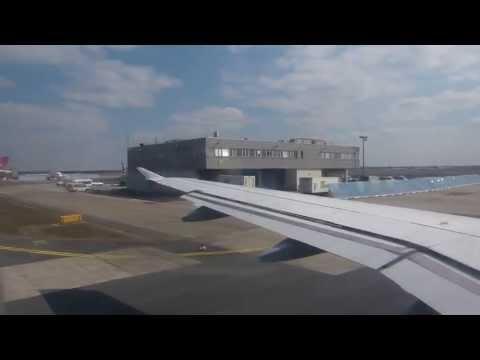 EDDF / Frankfurt TAKE OFF / Lufthansa Airbus A320 / 01.04.2013