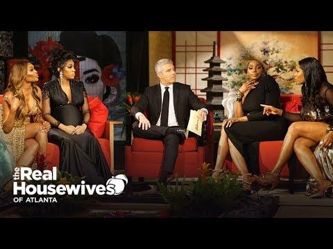 EXPLOSIVE Real Housewives Of Atlanta Reunion Trailer Reactions | RHOA Season 11
