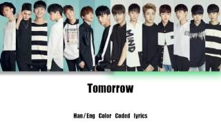BOYS24 Unit White & Green - Tomorrow | Color Coded Lyrics (Han, Eng)