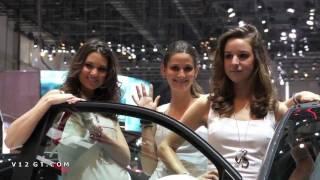 Salon de l'auto de Genève 2011 : les hôtesses