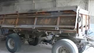 пескоструйная очистка и покраска грузового прицепа