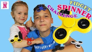 Спиннер Челлендж Fidget Spinner Challenge Трюки Фиджет Спиннер Fun Toys for Kids Распаковка и обзор